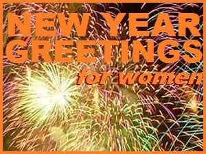 new year greetings for women
