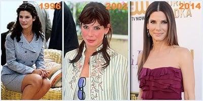 Как изменилась Сандра Буллок с 1996 по 2014
