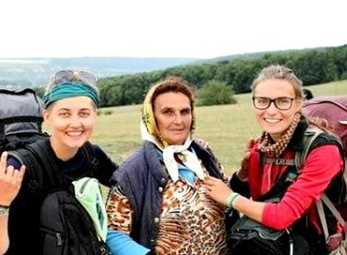 2 Ukrainian Women Walked Across The Country in 93 Days