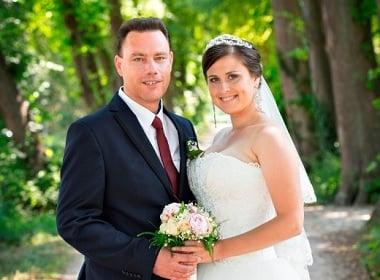 Married and Happy: Robert and Zinaida (Netherlands-Ukraine)
