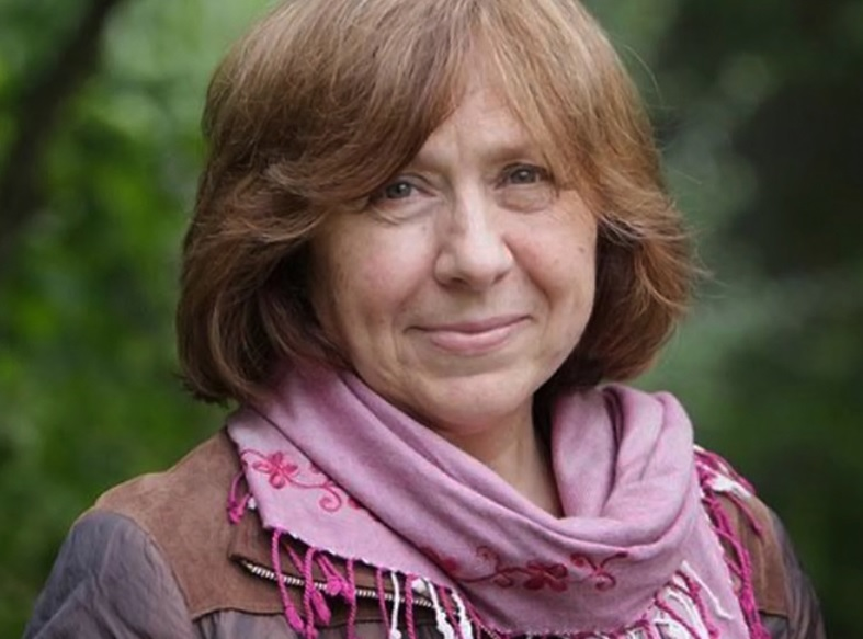 Svetlana Alexievich, 2015 Nobel Prize Winner in Literature