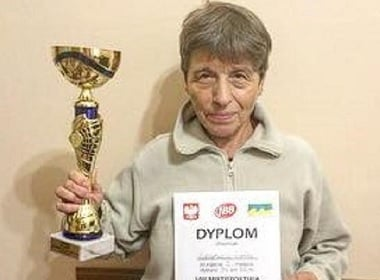 66-year-old Ukrainian Grandmother Ran 3 marathons in 24 Hours