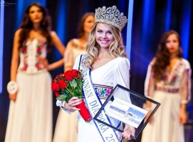 The most beautiful Ukrainian girl was choosen in the USA