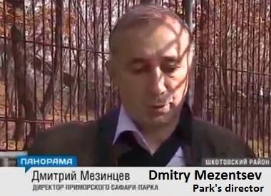 Dmitry Mezentsev, park's director