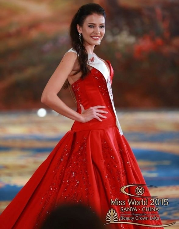 Vice Miss World Sofia Nikitchuk