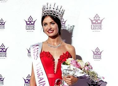 Miss World 2015 Ukraine Khrystyna Stoloka