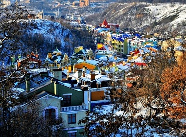 Travel to Ukraine in Winter