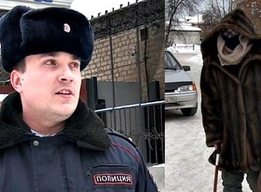 Viral Video: Russian Cop Caught a Robber by Impersonating an Old Granny
