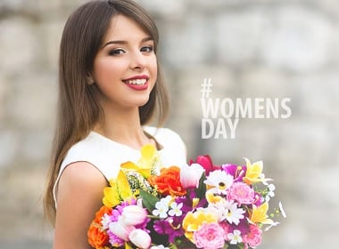 8 March Is Women's Day in Russia, Ukraine