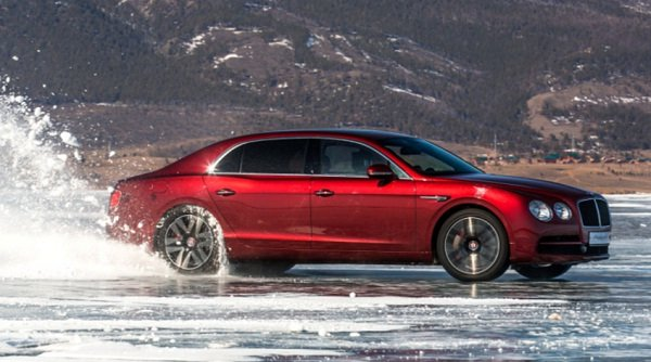Bentley's New Record on Russian Ice
