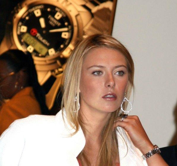 Maria Sharapova at Tag Heuer event in NY