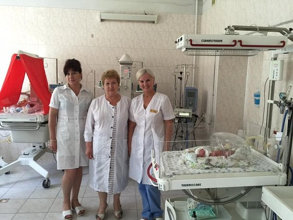 Ukraine woman gives birth to quintuplets