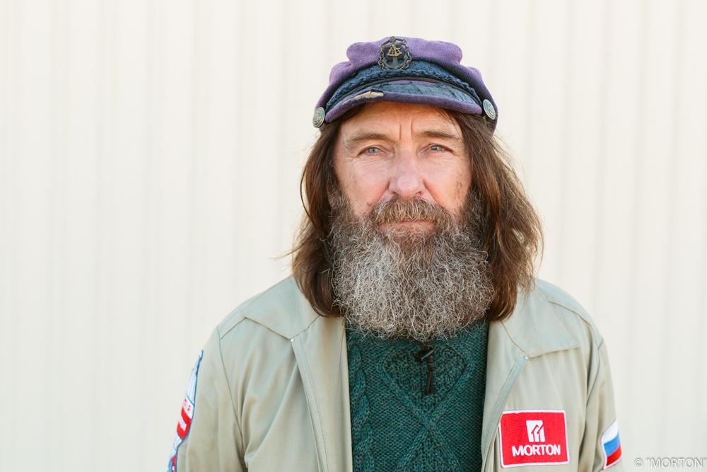 Fedor Konyukhov, the world's greatest voyager.