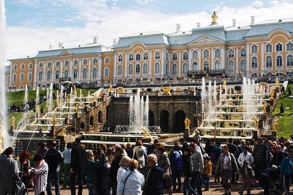 Peterhof Palace, Russia, St. Petersburg.