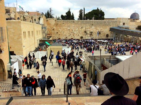 Стена Плача, Израиль.