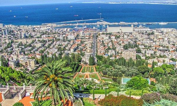 Сады Бахаи, Хайфа, Израиль.