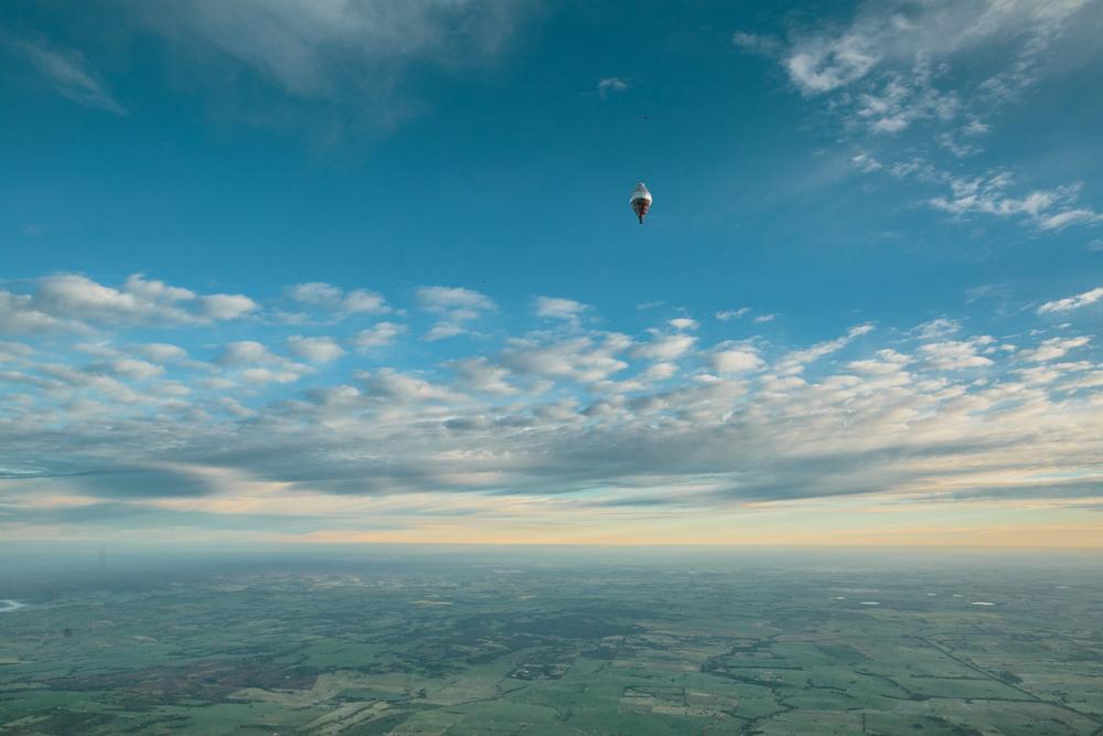 Hot air balloon Australia.