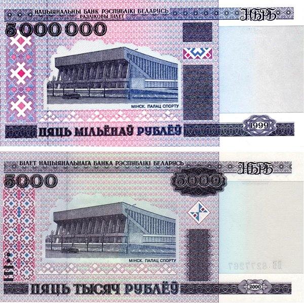 Denomination Belarus