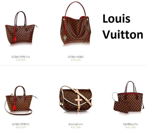 Фото: LouisVuitton.com.au
