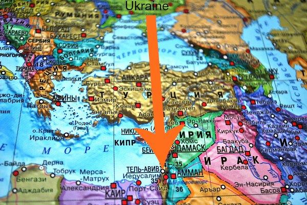 В Израиль из Украины.