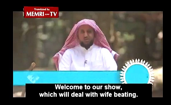 Wife beating in Islam.