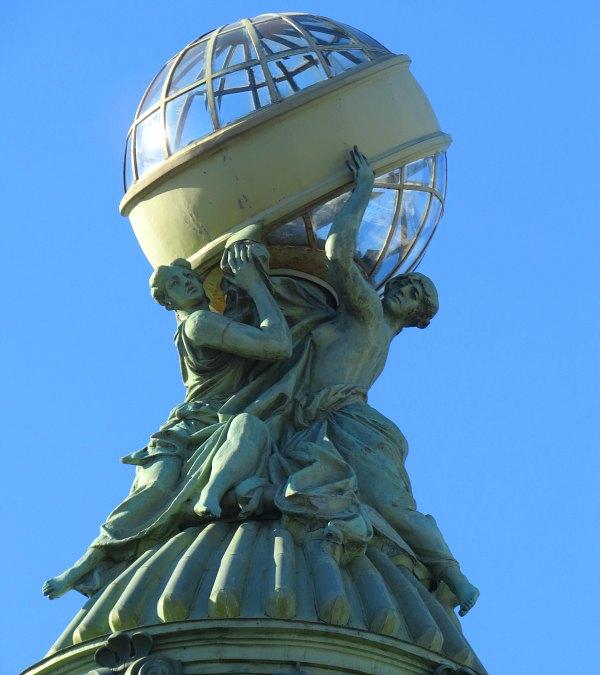 Sculpture at Nevsky Prospect, St Petersburg.