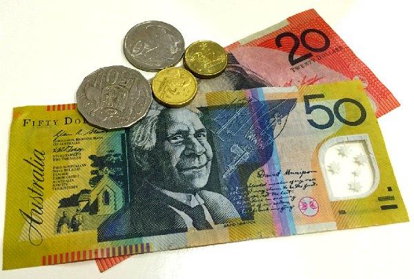 Минимальная оплата труда в Австралии, австралийские деньги.