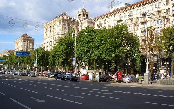 Khreshchatyk Boulevard