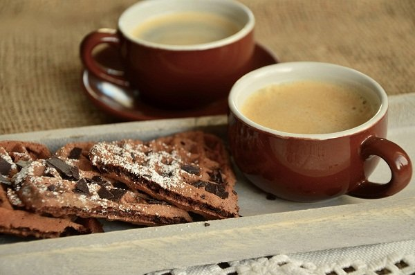 Kiev's best coffee in Zolotoy Dukat