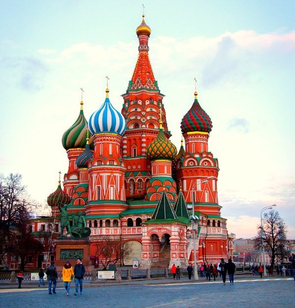 St. Basil Cathedral, Red Square