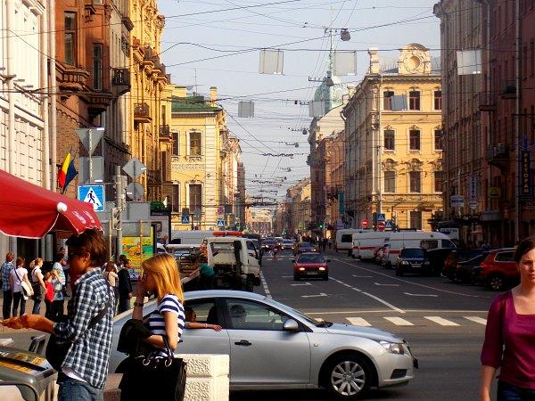 Nevsky Prospekt, St. Petersburg.