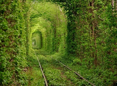 Tunnel of love in Ukraine: Nothing will take you apart?