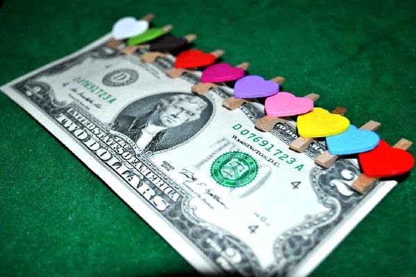 Money is #1 present for Ukrainian girls today.