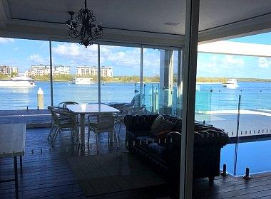 Жизнь в Раю, или вид из моего окна сегодня утром: Точка Рая, Голд Кост, Австралия.
