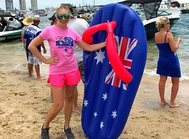 Как австралийцы празднуют День Австралии.