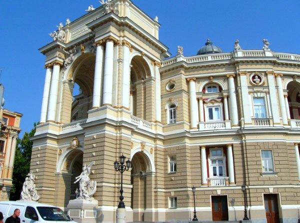Odessa, Ukraine, Opera Theatre