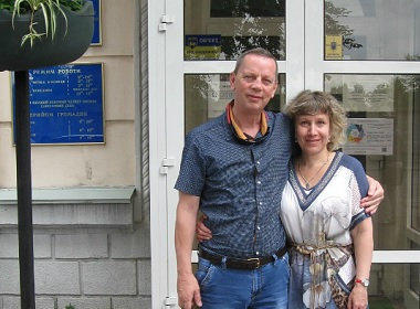 Olga and Robert (Ukraine, Australia): We were confident about finding happiness on your website.