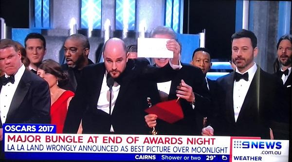 Церемония вручения престижных наград кино Оскар 2017.