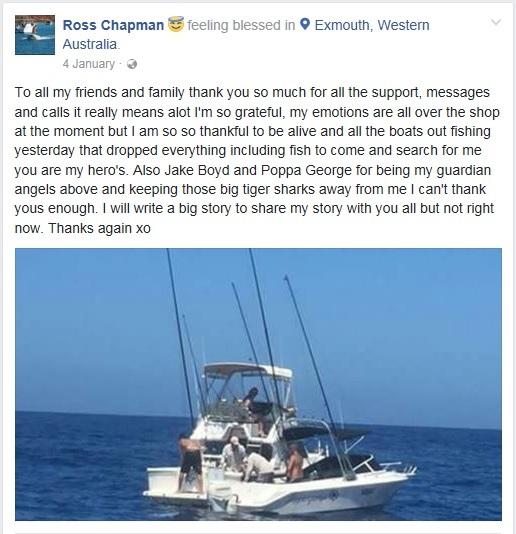 Ross Chapman Facebook.