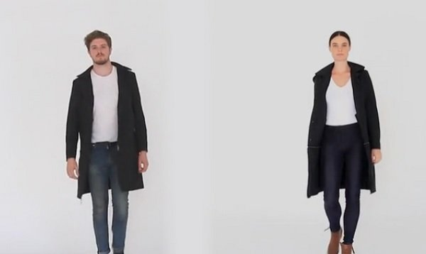 Airport jacket for men, women.