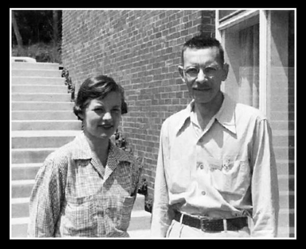 Алфред Херши и Марта Чейз.