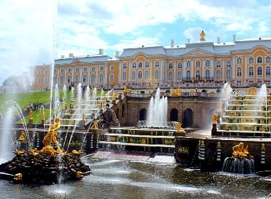 St. Petersburg, Russia, is #14 most popular destination in the world.