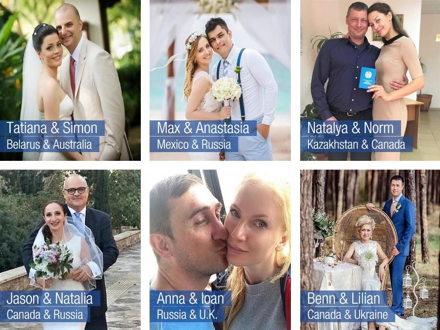 Русские невесты.