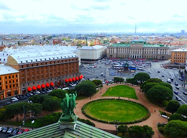 Rating of best hotels in St. Petersburg, Russia.