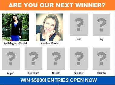 Entries to June photo contest of Elena's Models open.