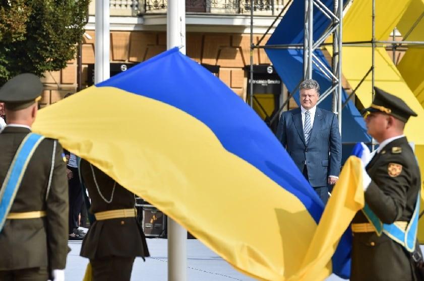 Petro Poroshenko, President of Ukraine.