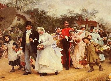 Как выходили замуж 100 лет назад