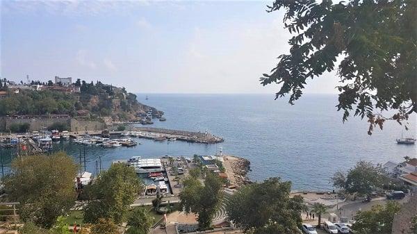 Маленький порт в Турции
