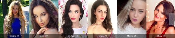 Elena's Models, girls.