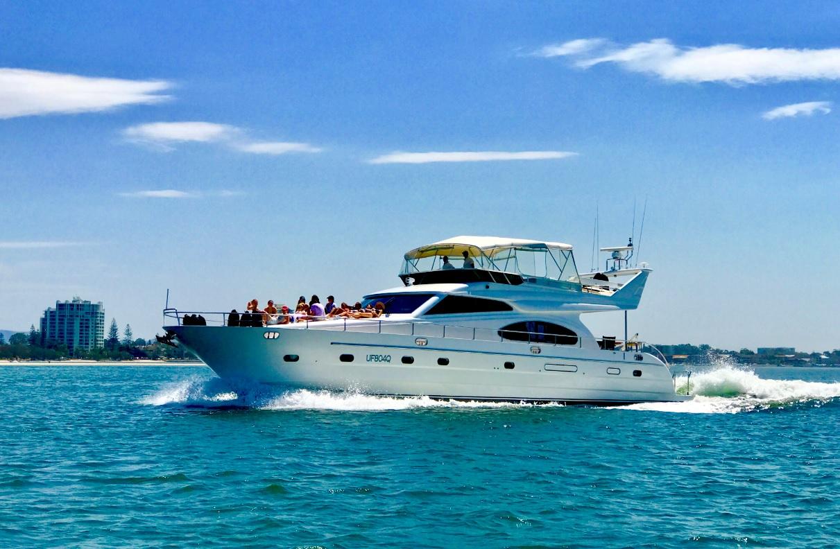 Яхта. Голд Кост, Австралия.